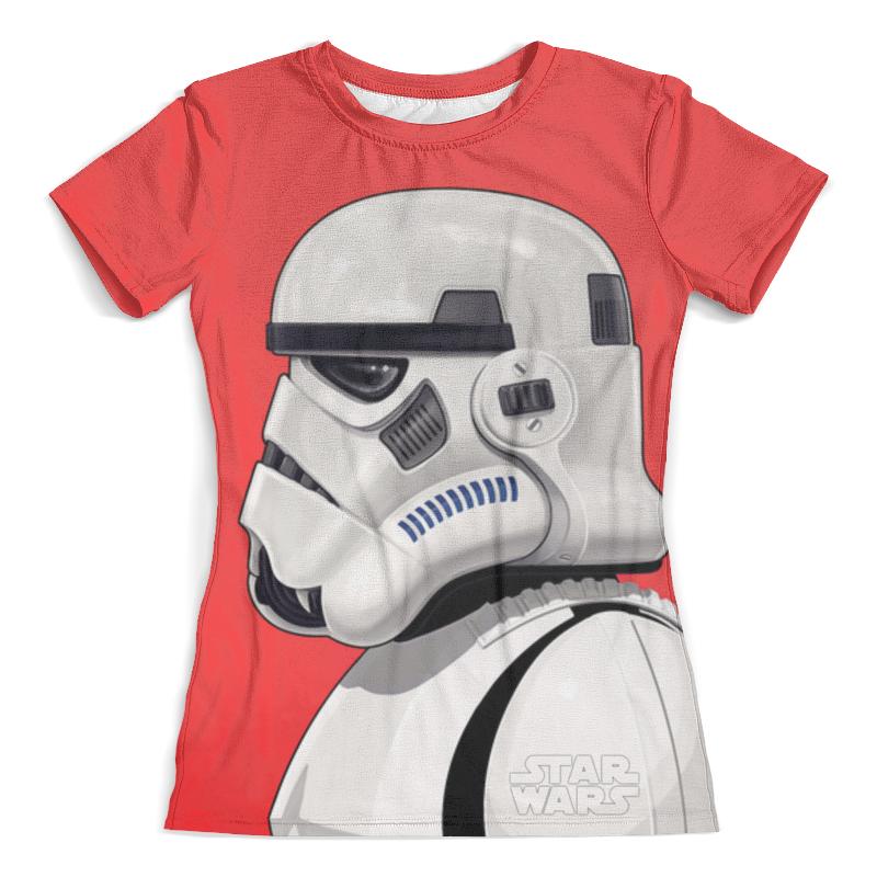Футболка с полной запечаткой (женская) Printio Star wars (двусторонняя) футболка с полной запечаткой женская printio star wars bb 8