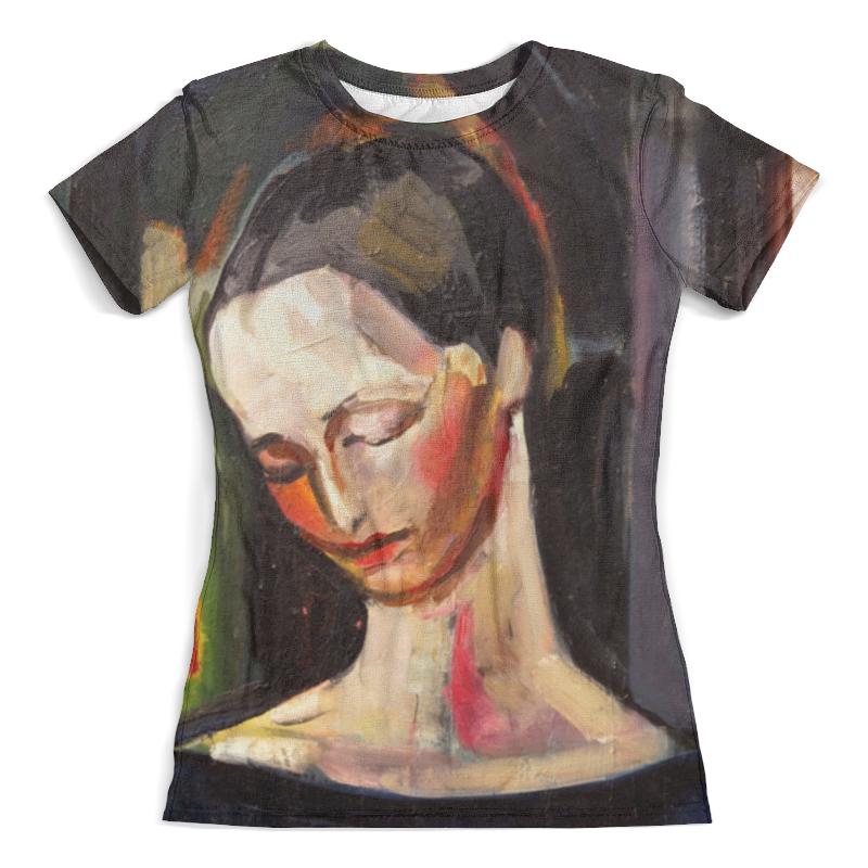Футболка с полной запечаткой (женская) Printio Женский портрет (илья машков) футболка print bar военный илья