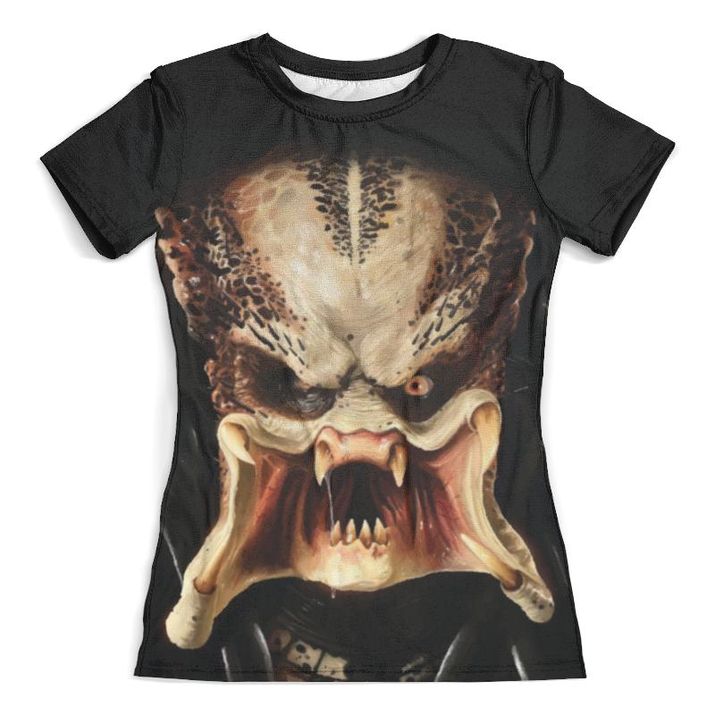 Футболка с полной запечаткой (женская) Printio Predator / хищник (женская) футболка с полной запечаткой женская printio colorfull triangle