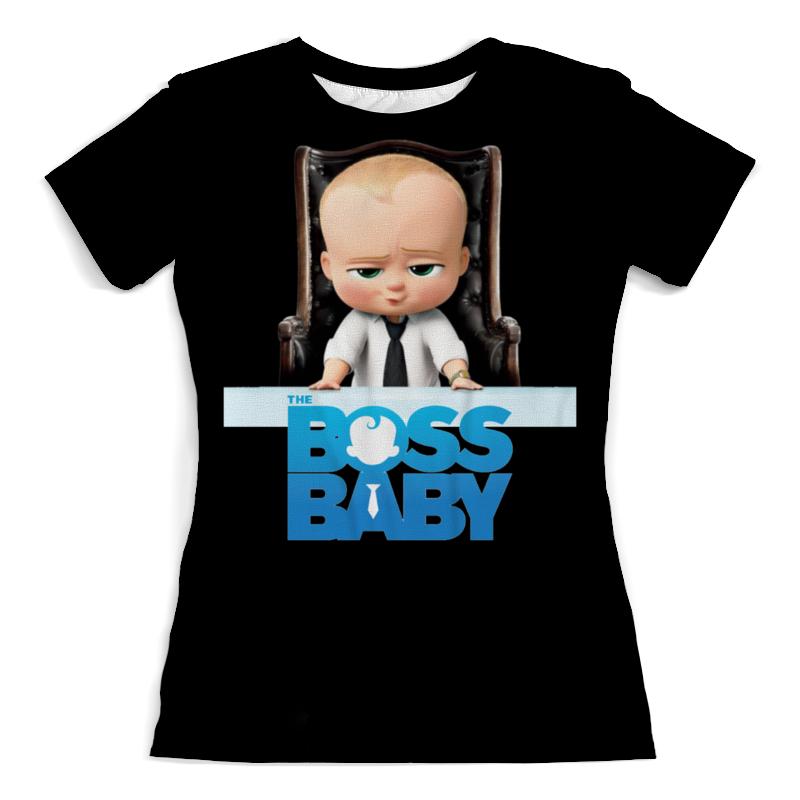 Футболка с полной запечаткой (женская) Printio Босс-молокосос / the boss baby