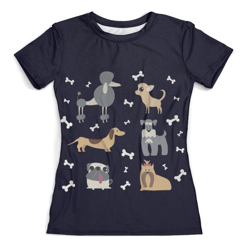 Футболка с полной запечаткой (женская) Printio Забавные собачки футболка с полной запечаткой женская printio забавные щенки