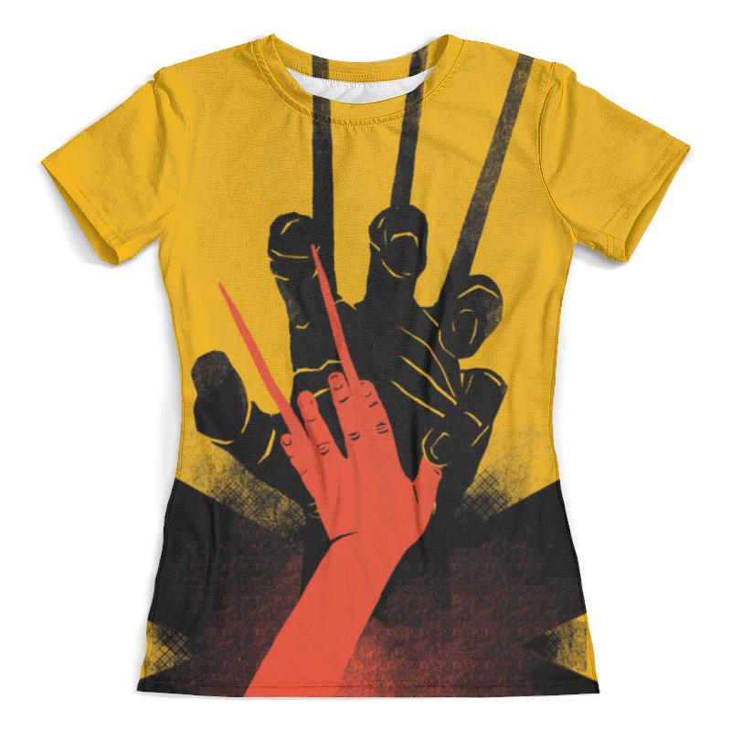 Фото - Футболка с полной запечаткой (женская) Printio Logan футболка с полной запечаткой женская printio wolverine x 23 logan