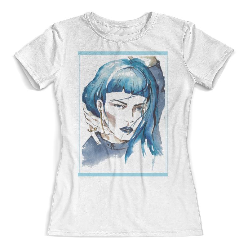 Футболка с полной запечаткой (женская) Printio Fashion girl футболка с полной запечаткой женская printio fashion girl in sketch style