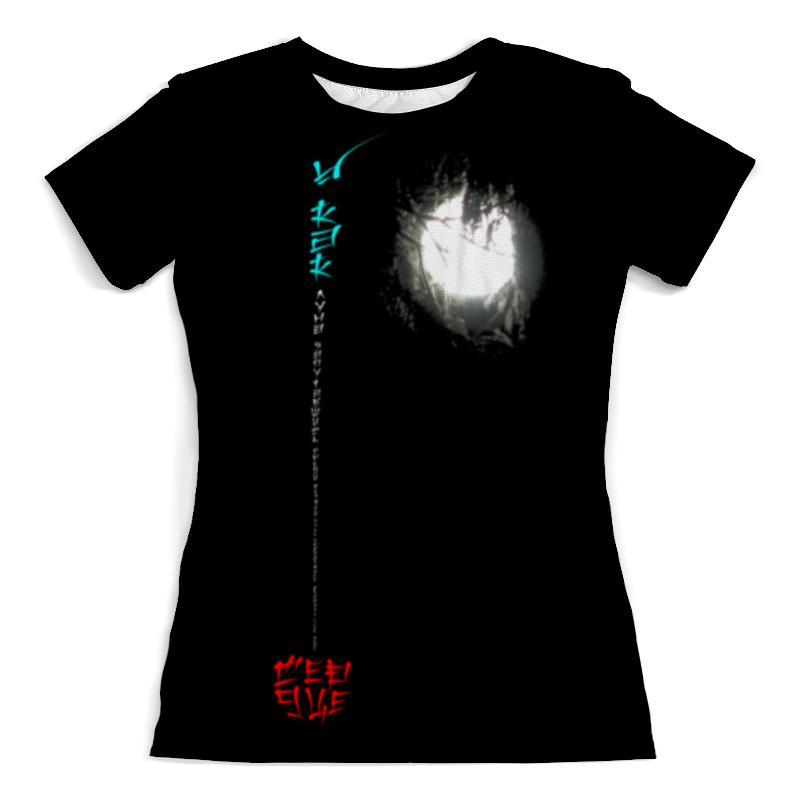 Футболка с полной запечаткой (женская) Printio Луна в ветвях № 1. китай футболка поло женская фото