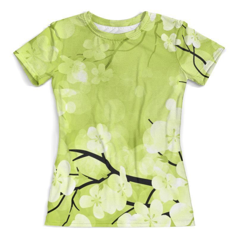 Футболка с полной запечаткой (женская) Printio Весна футболка с полной запечаткой printio космоскоп 25