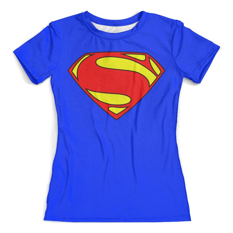 Футболка с полной запечаткой (женская) Printio Supergirl блокнот printio supergirl