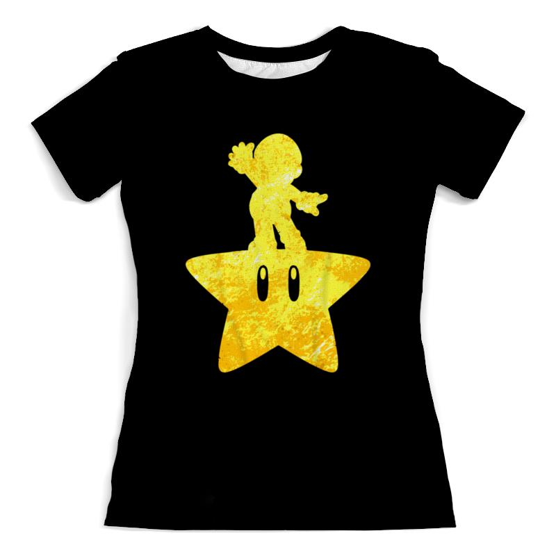Футболка с полной запечаткой (женская) Printio Марио ( mario ) футболка с полной запечаткой для девочек printio марио и луиджи марио mario