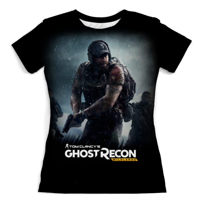 Футболка с полной запечаткой (женская) Printio Tom clancy's ghost recon wildlands tom clancy s ghost recon wildlands gold edition ps4
