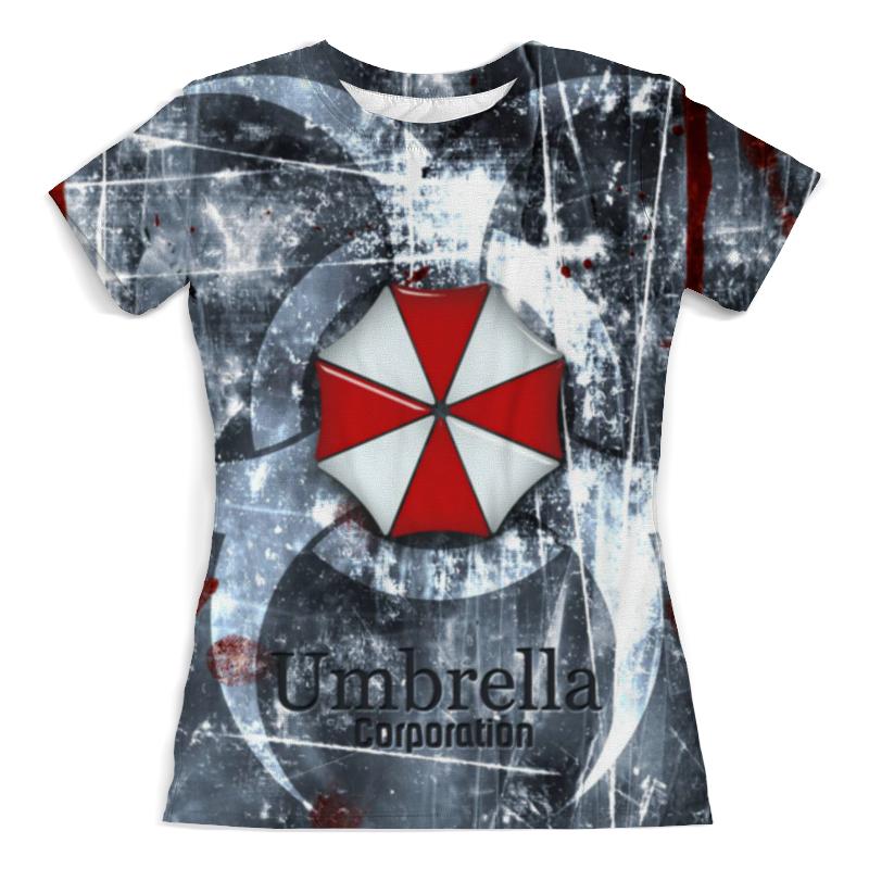 Футболка с полной запечаткой (женская) Printio Resident evil футболка франшиза отзывы