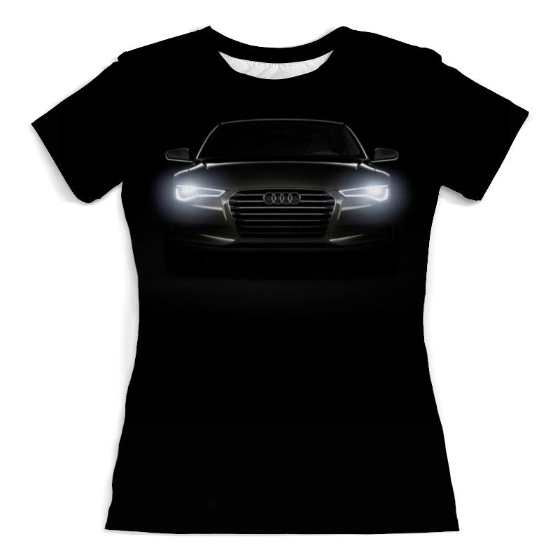 Футболка с полной запечаткой (женская) Printio Audi (ауди) футболка ауди