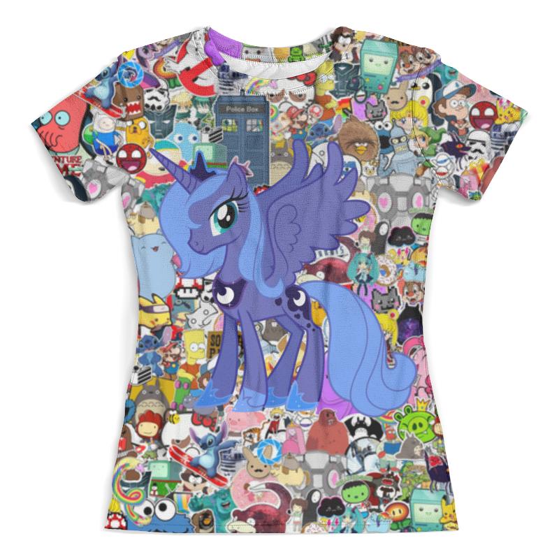 Футболка с полной запечаткой (женская) Printio My little pony футболка с полной запечаткой женская printio my little pony full print