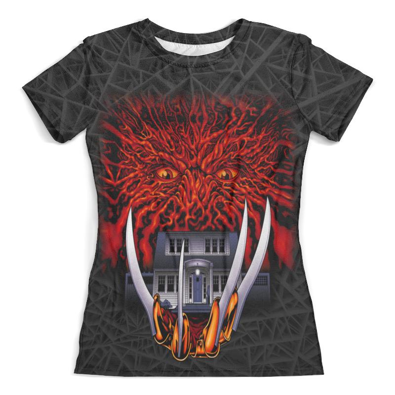Футболка с полной запечаткой (женская) Printio Freddy krueger (halloween) футболка с полной запечаткой женская printio halloween thriller