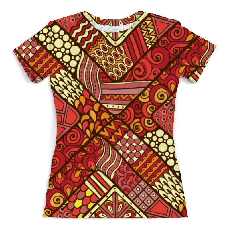Printio Узоры футболка с полной запечаткой женская printio blade