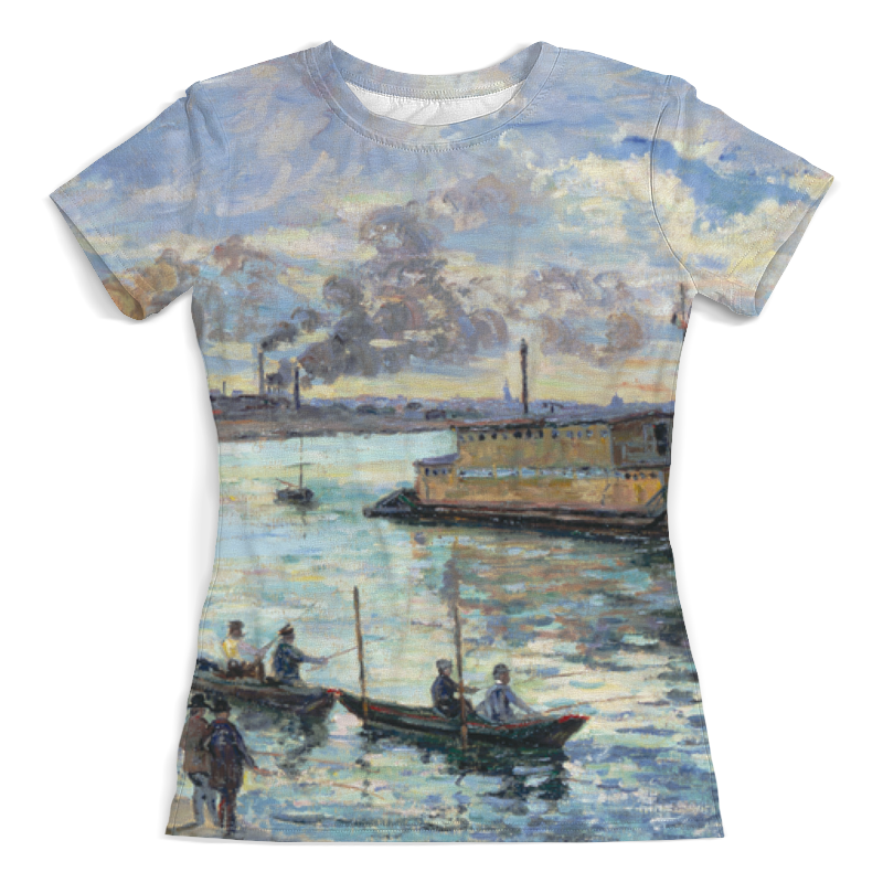 Printio Речной пейзаж (арман гийомен) футболка с полной запечаткой мужская printio летний речной бриз