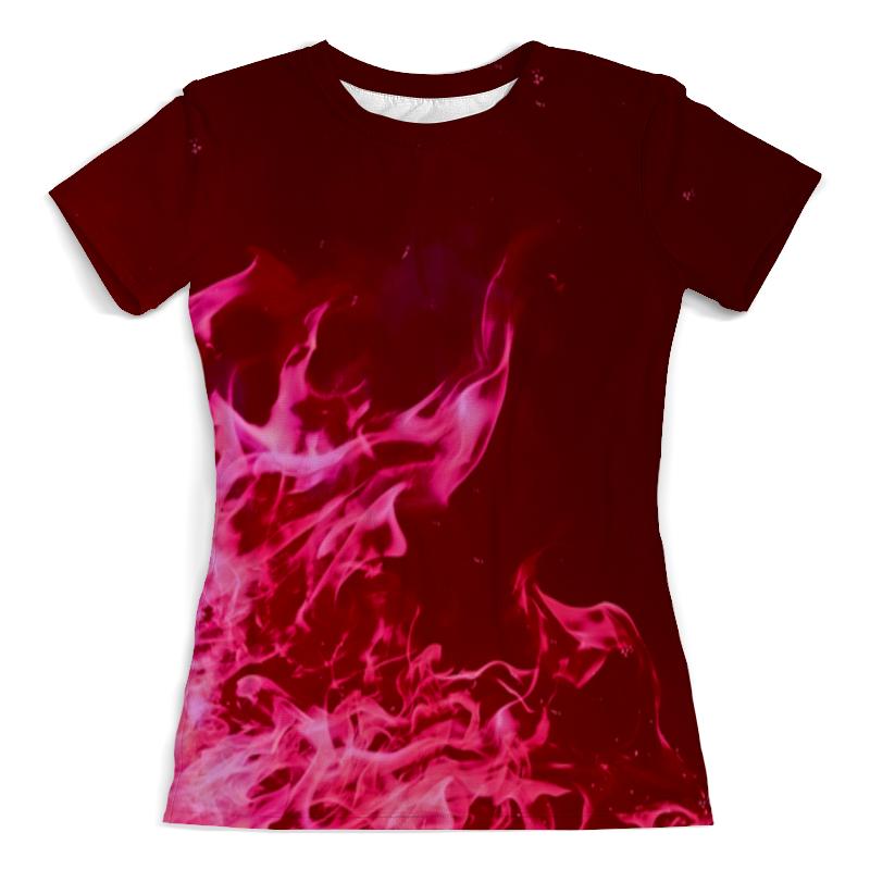 Printio Розовый огонь футболка с полной запечаткой женская printio розовый кристалл