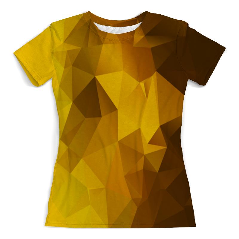 лучшая цена Printio Gold polygon