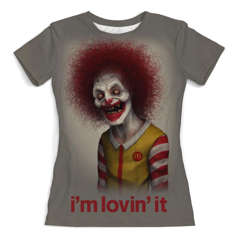 Printio Макдональдс - я люблю это футболка с полной запечаткой женская printio я люблю иисуса