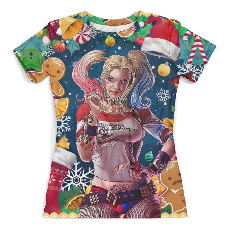 Футболка с полной запечаткой (женская) Printio Merry christmas (harley quinn) футболка с полной запечаткой женская printio a very merry x mas