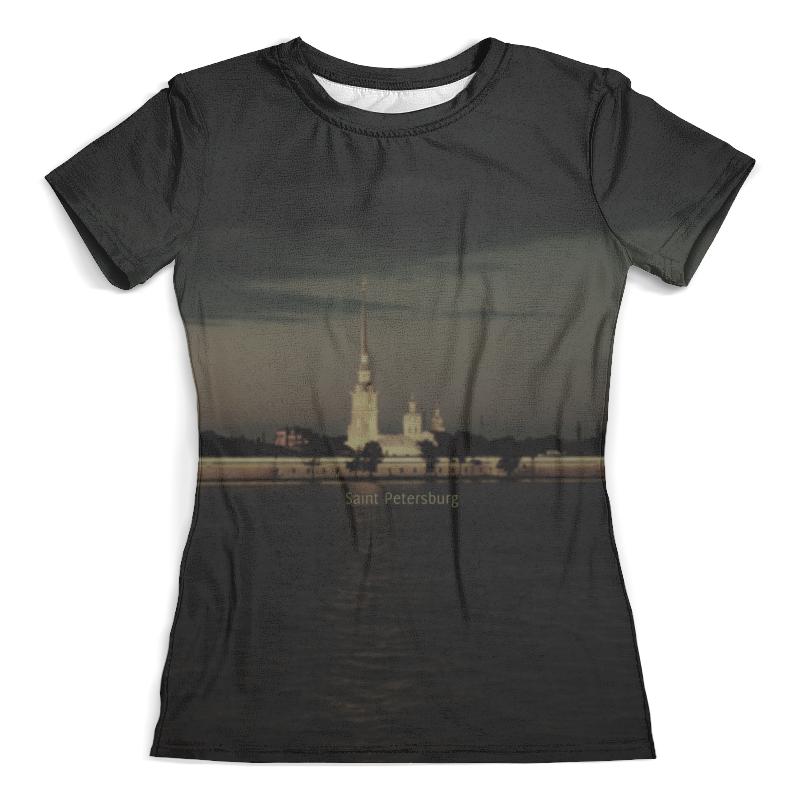 Футболка с полной запечаткой (женская) Printio Петербург футболка с полной запечаткой мужская printio санкт петербург