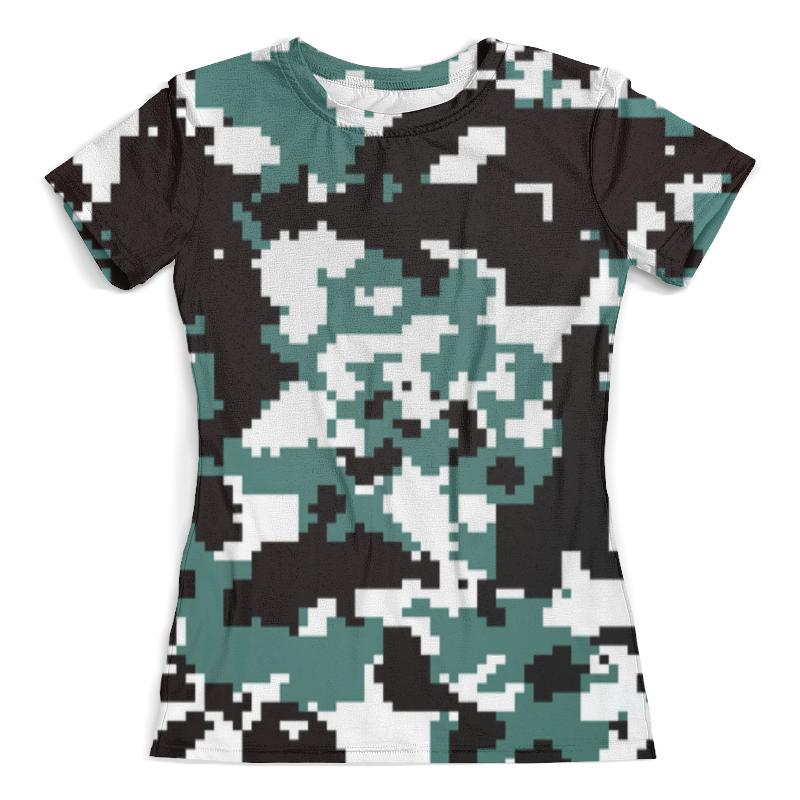 Футболка с полной запечаткой (женская) Printio Pixel camouflage бомбер printio pixel camouflage