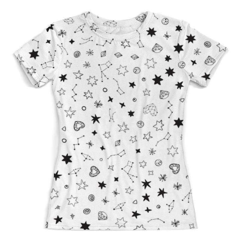 Футболка с полной запечаткой (женская) Printio Футболка космос футболка с полной запечаткой  женская
