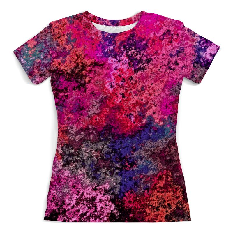 Printio Брызги футболка с полной запечаткой женская printio брызги красок