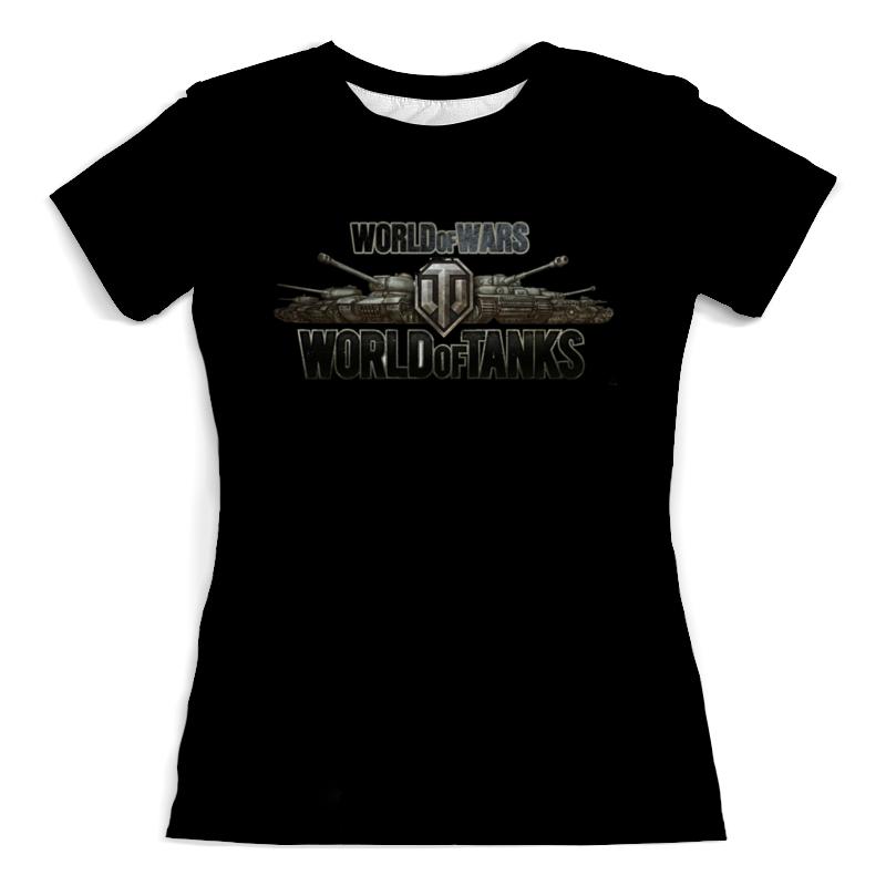 Футболка с полной запечаткой (женская) Printio World of tanks футболка стрэйч printio world of tanks