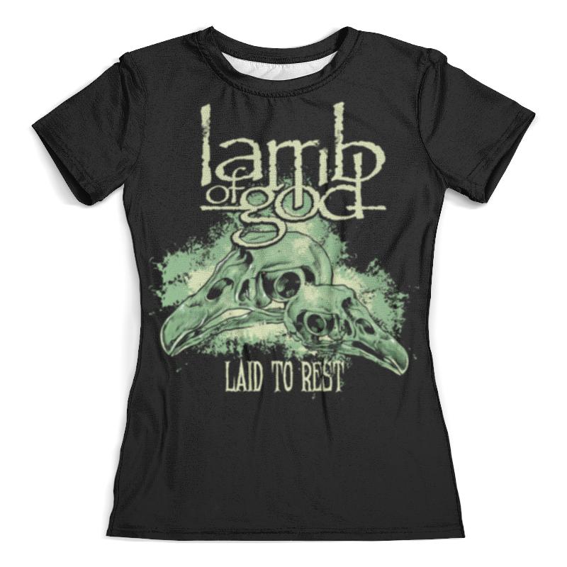 Футболка с полной запечаткой (женская) Printio Lamb of god mstrkrft mstrkrft fist of god