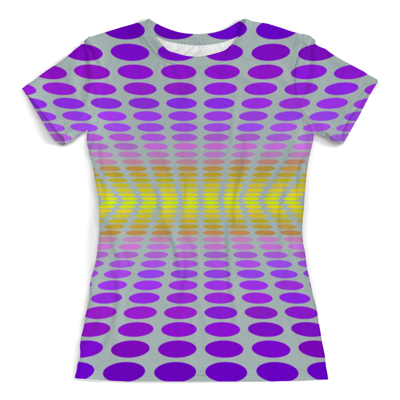 Printio Abstraction 3d женская футболка other 2015 3d loose batwing harajuku tshirt t a50