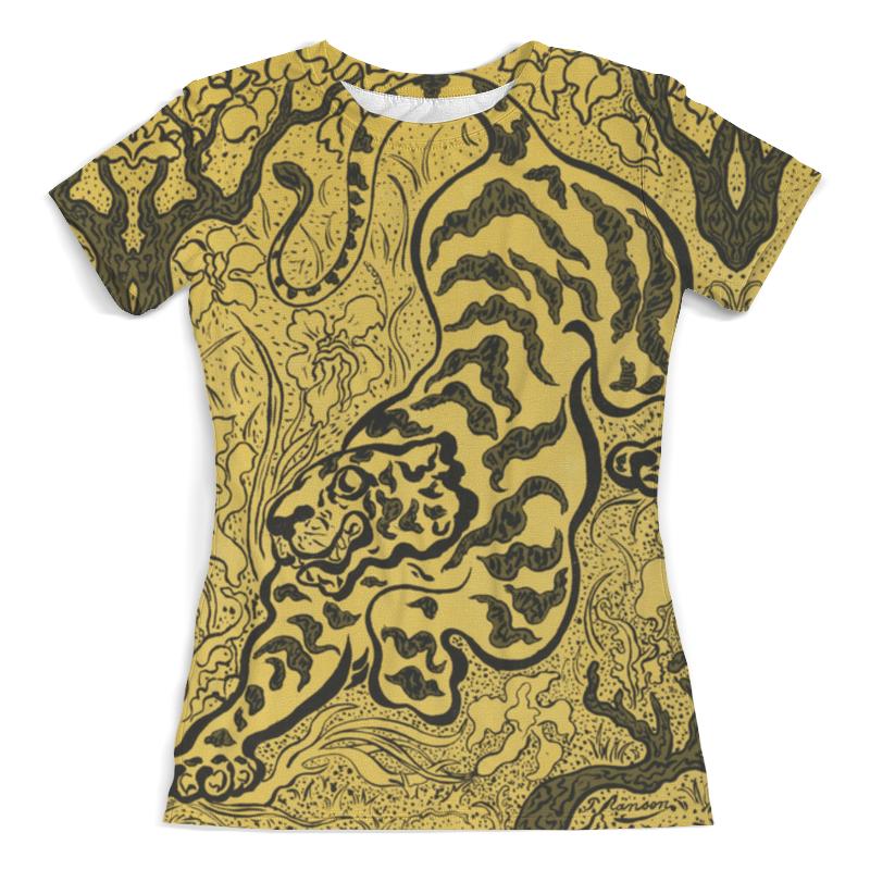 Футболка с полной запечаткой Printio Тигр в джунглях (поль-элье рансон) футболка с полной запечаткой printio зов поль гоген