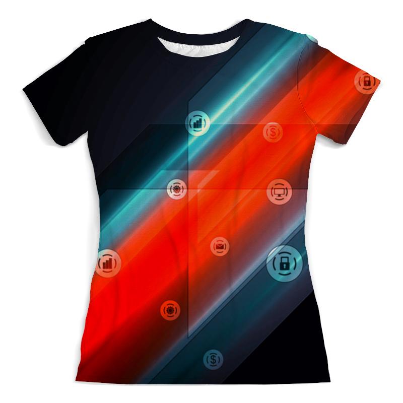 Футболка с полной запечаткой (женская) Printio Виджеты футболка с полной запечаткой для мальчиков printio виджеты