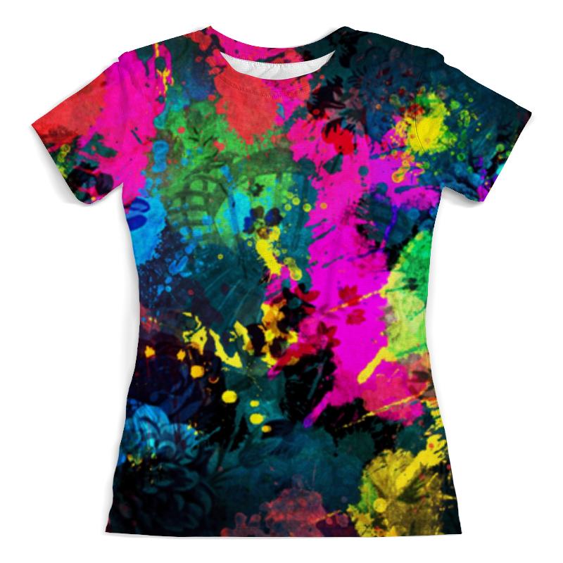 Printio Краски футболка с полной запечаткой женская printio blade