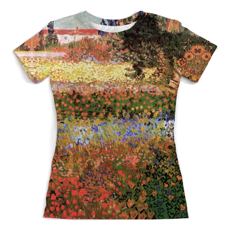 Футболка с полной запечаткой (женская) Printio Цветущий сад (винсент ван гог) рюкзак мешок с полной запечаткой printio персиковое дерево в цвету ван гог