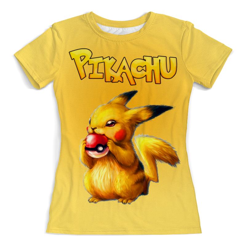 Printio Pikachu футболка с полной запечаткой женская printio blade