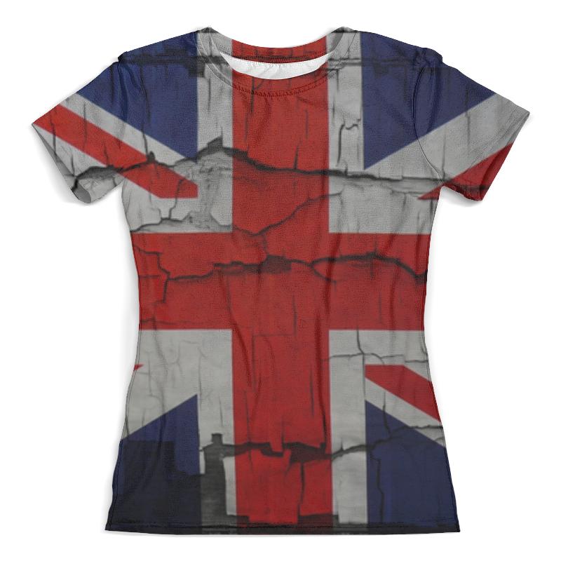 Футболка с полной запечаткой (женская) Printio Британский флаг футболка с полной запечаткой женская printio american flag американский флаг