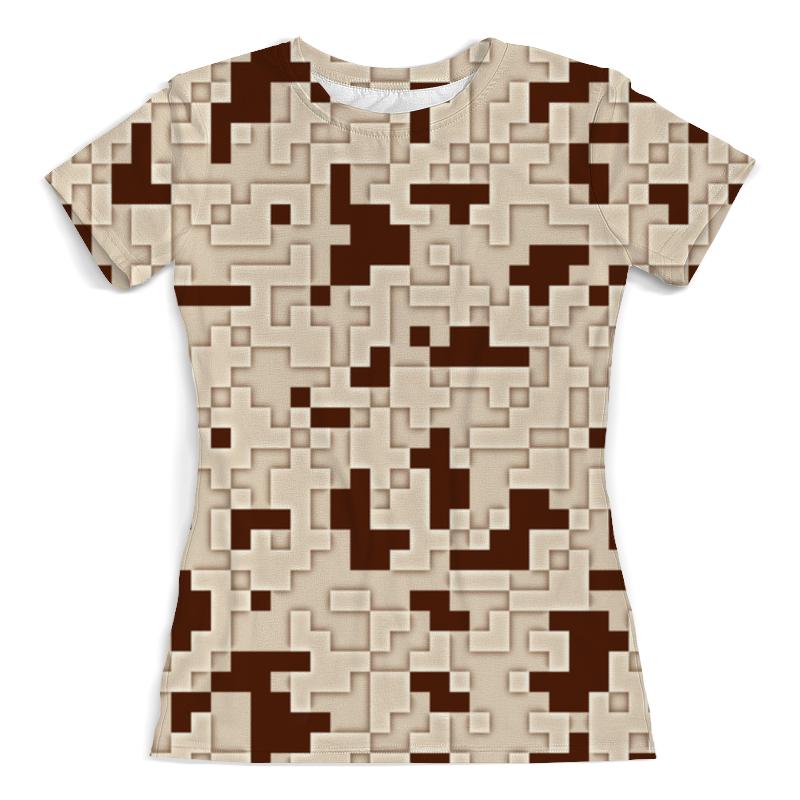 Фото - Футболка с полной запечаткой (женская) Printio Ретро пиксели футболка с полной запечаткой женская printio пиксели