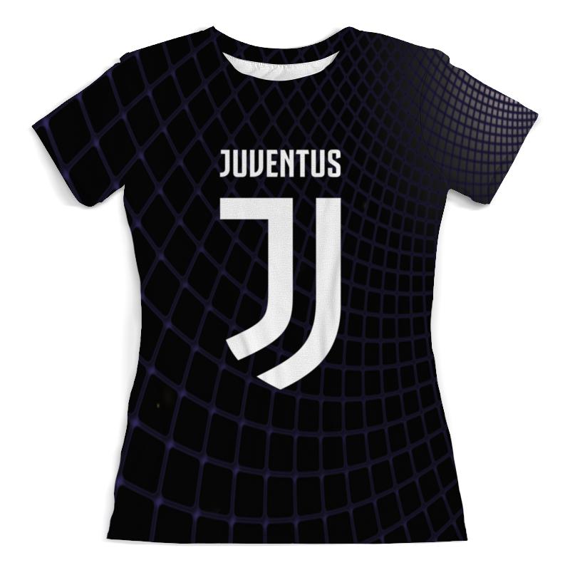 Футболка с полной запечаткой (женская) Printio Juventus
