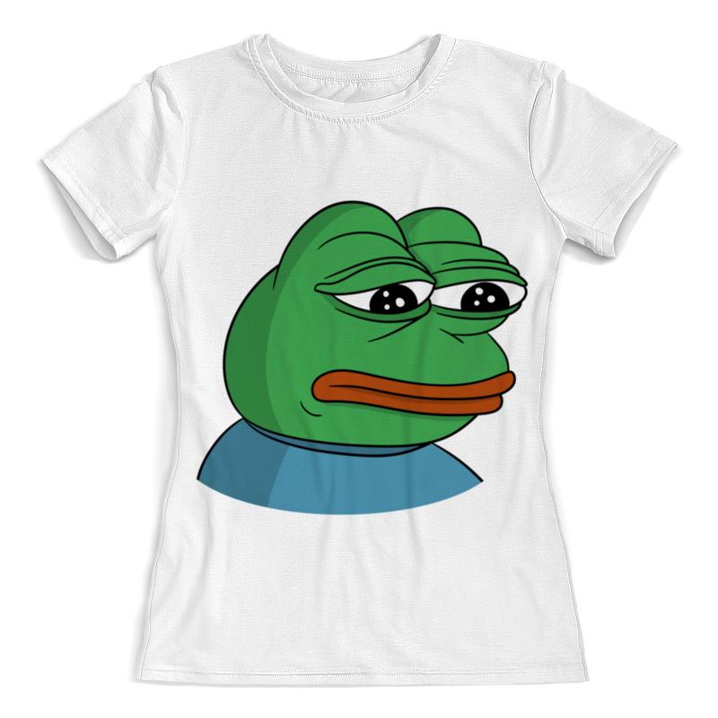 Printio Pepe the frog футболка с полной запечаткой женская printio цитрус