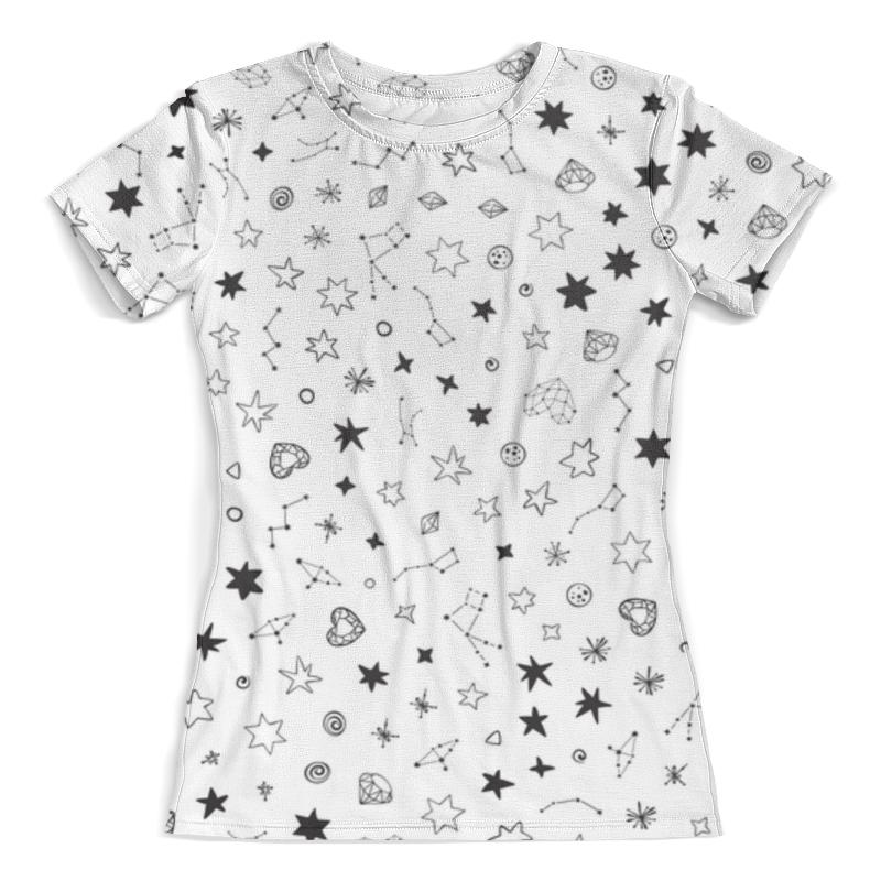Футболка с полной запечаткой (женская) Printio Футболка космос футболка с полной запечаткой женская printio воздушные шары