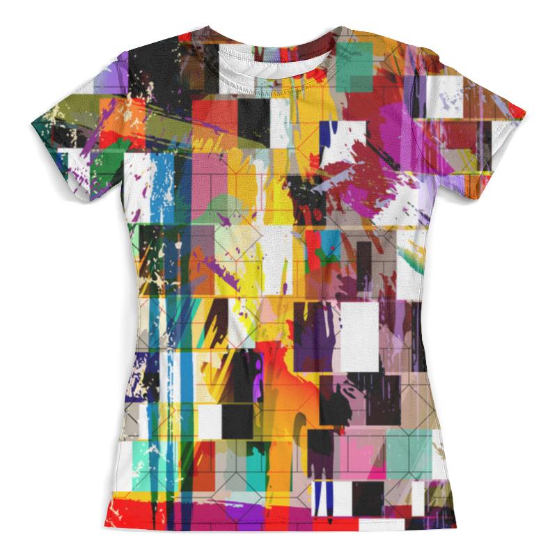 Футболка с полной запечаткой (женская) Printio Pop art футболка с полной запечаткой женская printio anget art