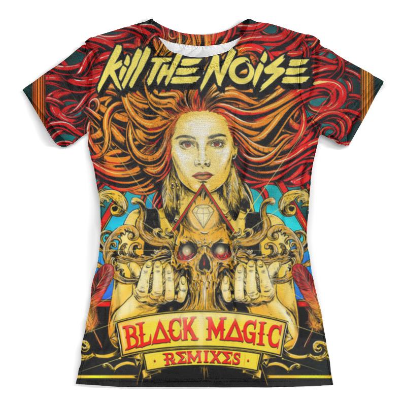 Футболка с полной запечаткой (женская) Printio Чёрная магия футболка с полной запечаткой женская printio чёрная вдова black widow