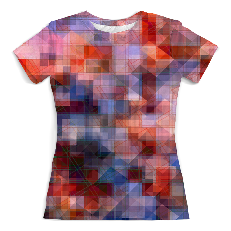 лучшая цена Printio Пиксель-арт. разноцветный паттерн