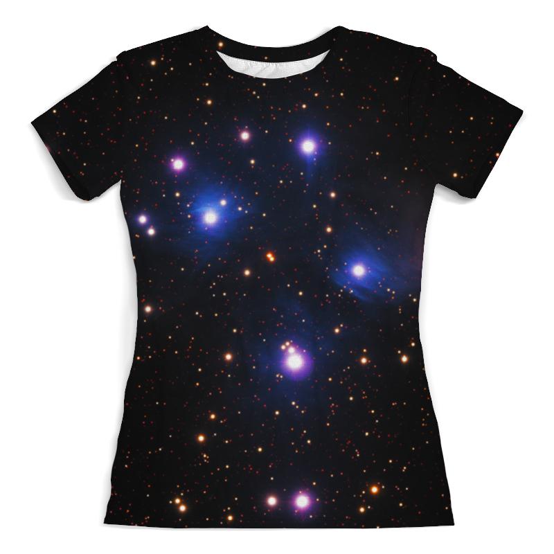 Футболка с полной запечаткой (женская) Printio Космос (space) футболка с полной запечаткой мужская printio космос space