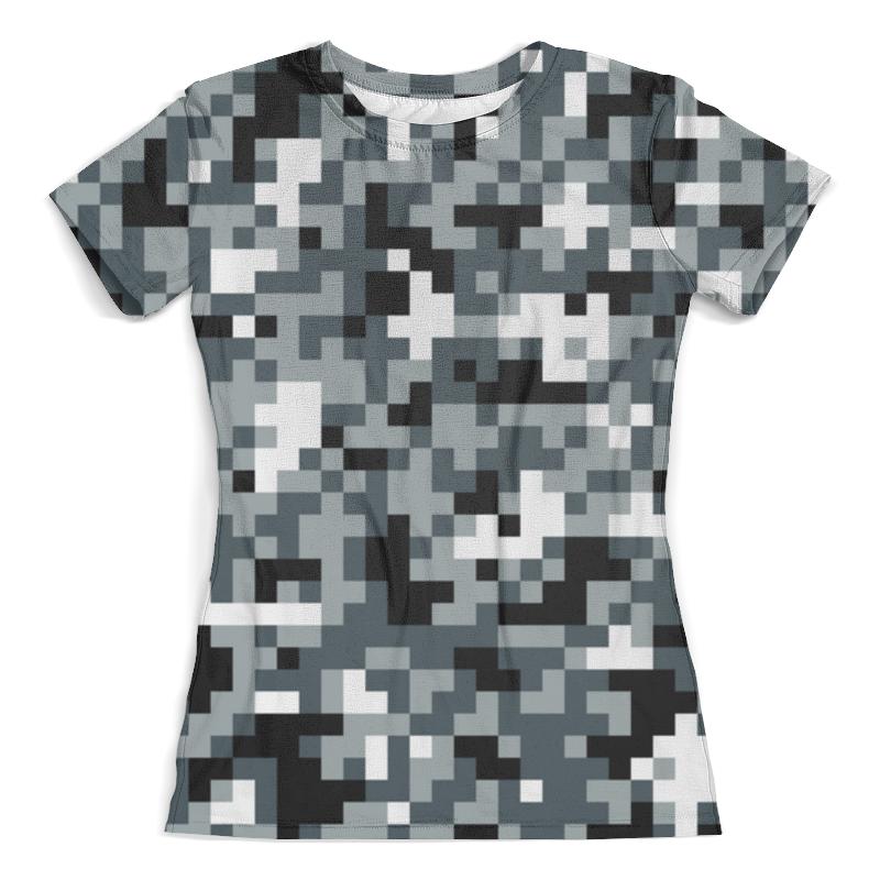 Футболка с полной запечаткой (женская) Printio Urban camouflage майка print bar urban camouflage