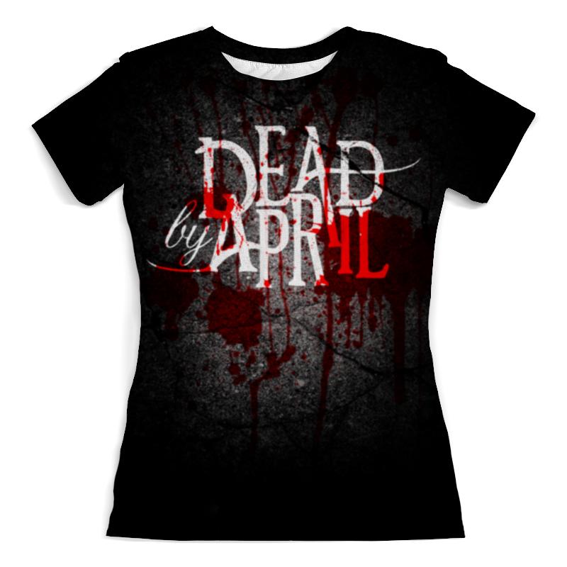 Футболка с полной запечаткой (женская) Printio Dead by april футболка классическая printio dead by april