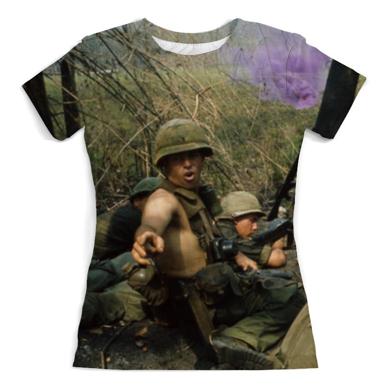 Футболка с полной запечаткой (женская) Printio Вьетнамская война цена