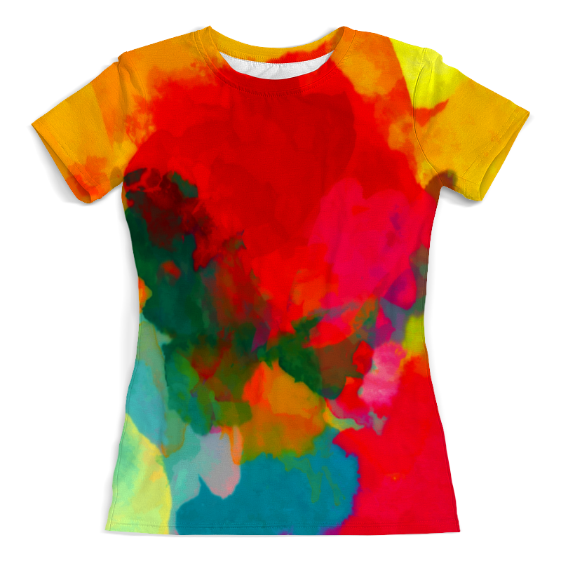 Printio Water color water color criss cross back tee