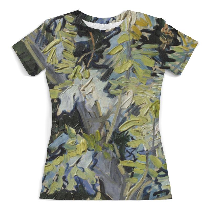 Printio Ветви цветущей акации (винсент ван гог) футболка с полной запечаткой женская printio зеленые поля пшеницы винсент ван гог