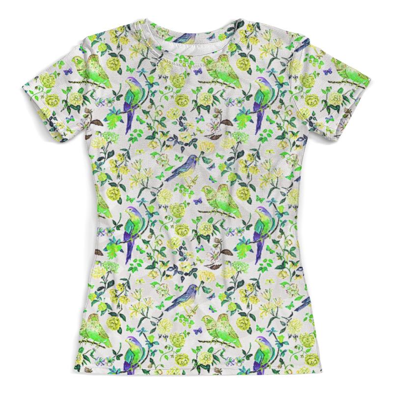 лучшая цена Printio Birds flowers design