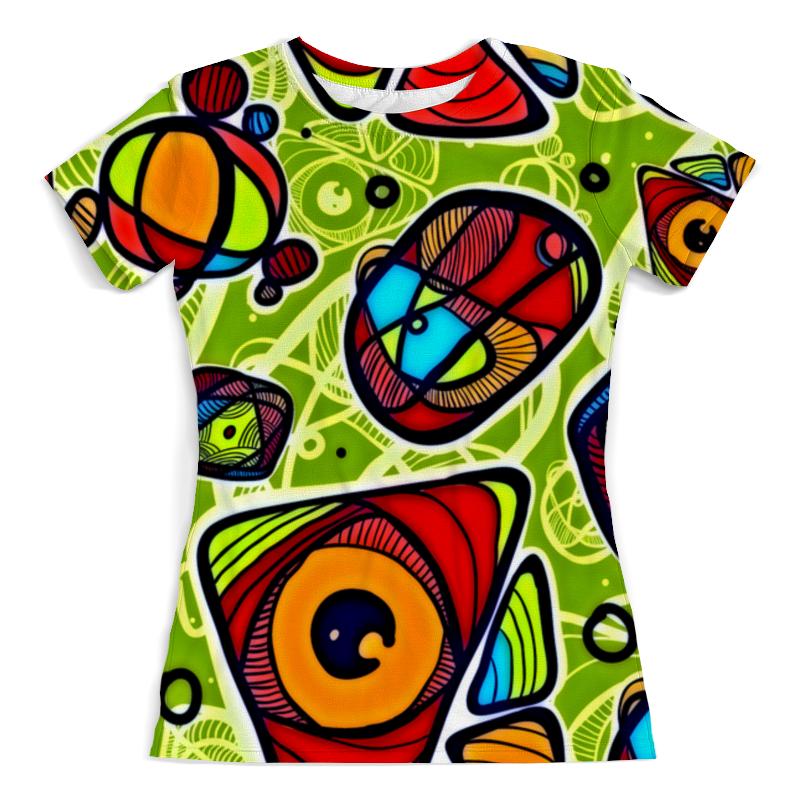 Фото - Футболка с полной запечаткой (женская) Printio Минимализм футболка с полной запечаткой мужская printio минимализм